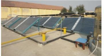 福州组装式温室太阳能增温系统