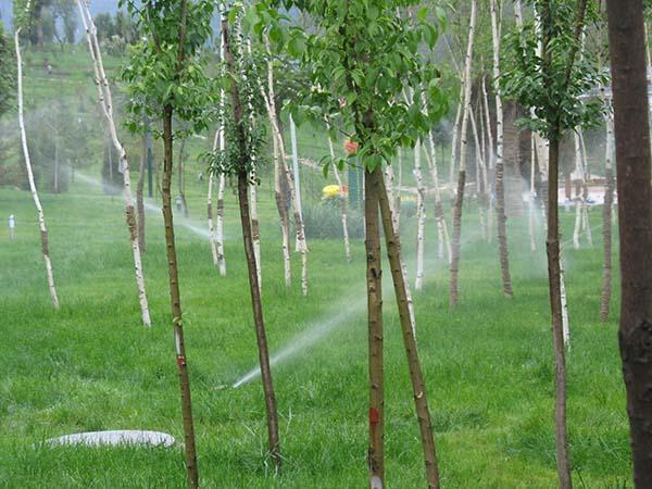 池州绿化地喷灌